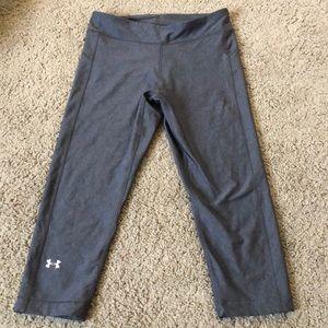 UNDER ARMOUR Capri legging workout pants